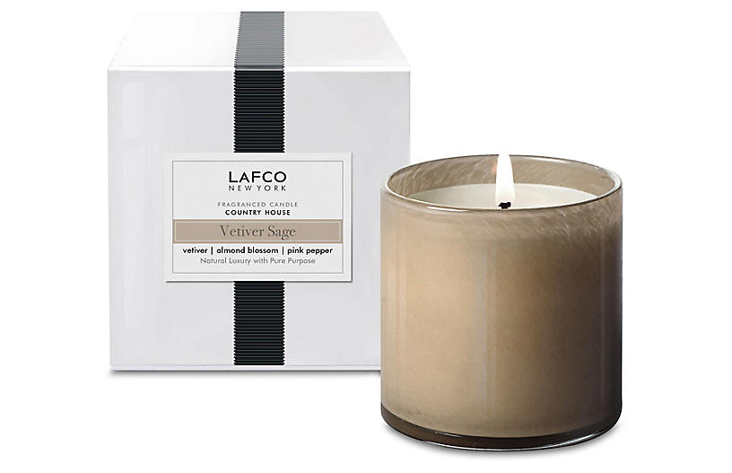 Classic 6.5 oz Candle, Vetiver Sage