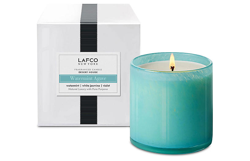Signature 15.5 oz Candle, Watermint Agave
