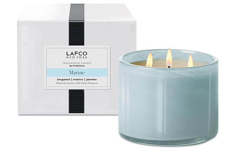 3-Wick Candle, Marine