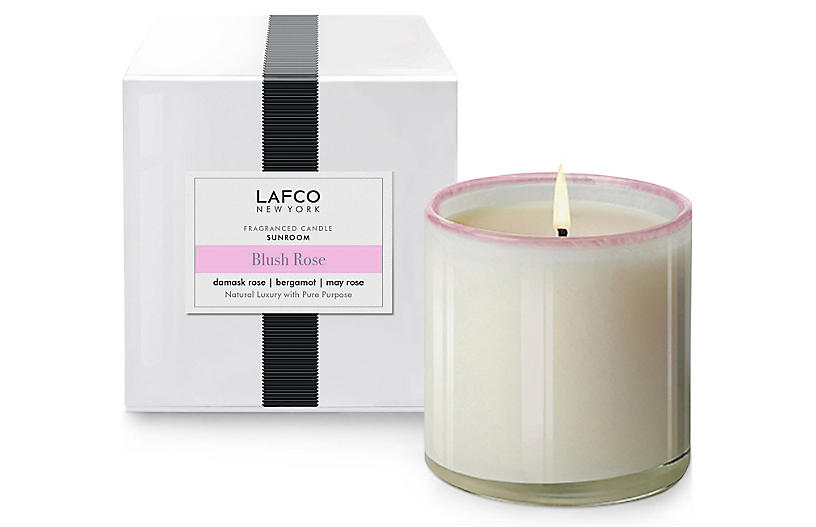 Classic 6.5 oz Candle, Blush Rose