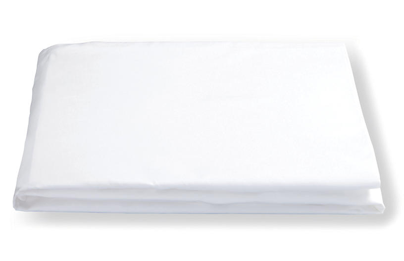 Lowell Fitted Sheet, White