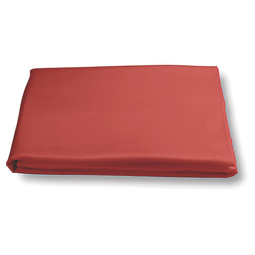 Nocturne Fitted Sheet, Coral