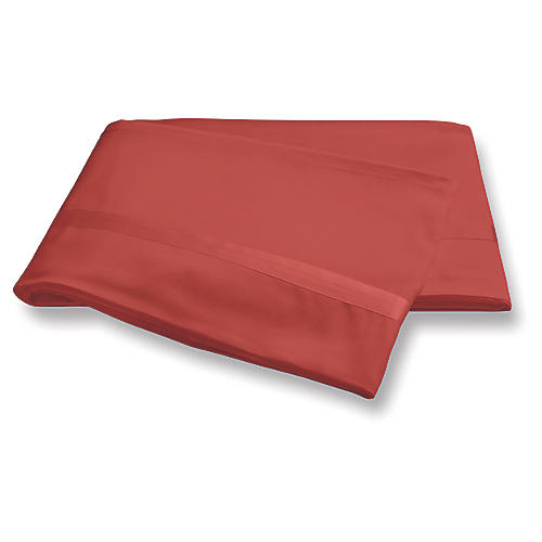 Nocturne Flat Sheet, Coral