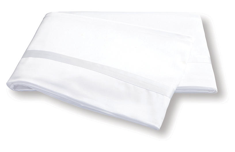 Nocturne Flat Sheet, White