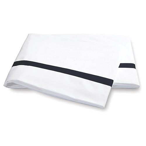 Lowell Flat Sheet, Navy