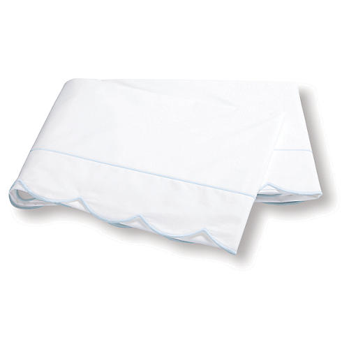 Butterfield Flat Sheet, Blue