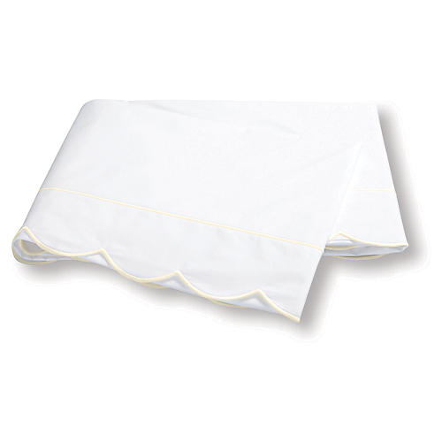 Butterfield Flat Sheet, Ivory