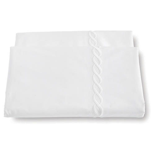 Classic Chain Duvet Cover, White