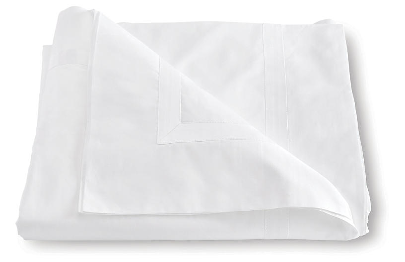 Lowell Duvet Cover, White