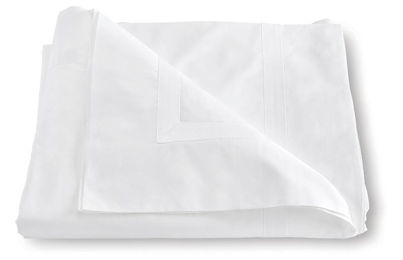 Lowell Duvet Cover, White