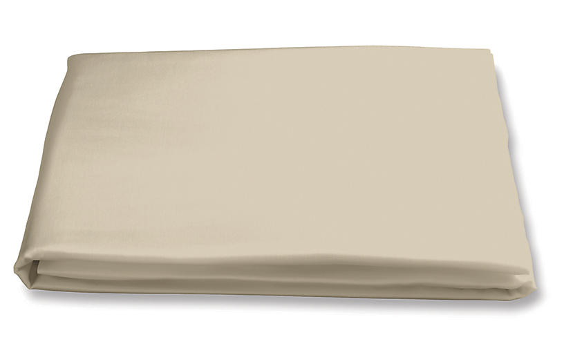 Nocturne Fitted Sheet, Champagne