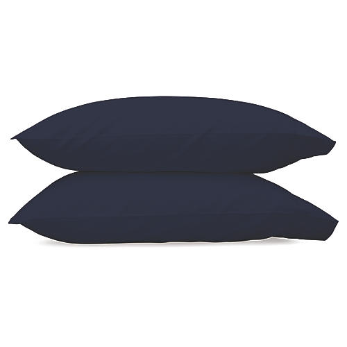 Nocturne Pillowcases, Navy