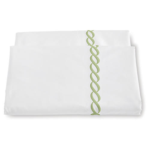 Classic Chain Duvet Cover, Spring Green