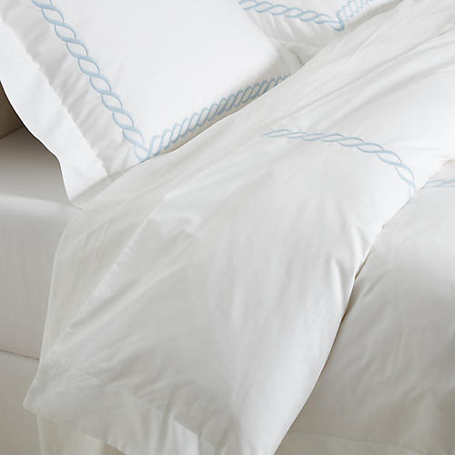 Venezia Duvet Set, Blue