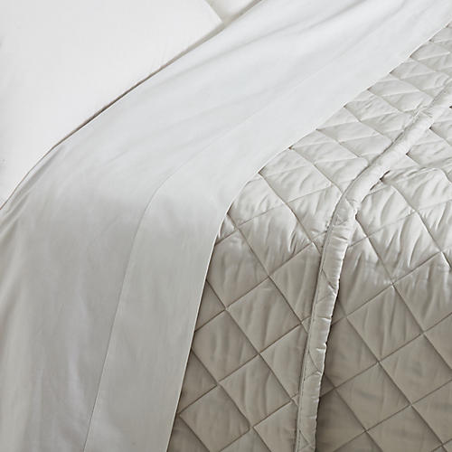 Elido Quilt, Silver