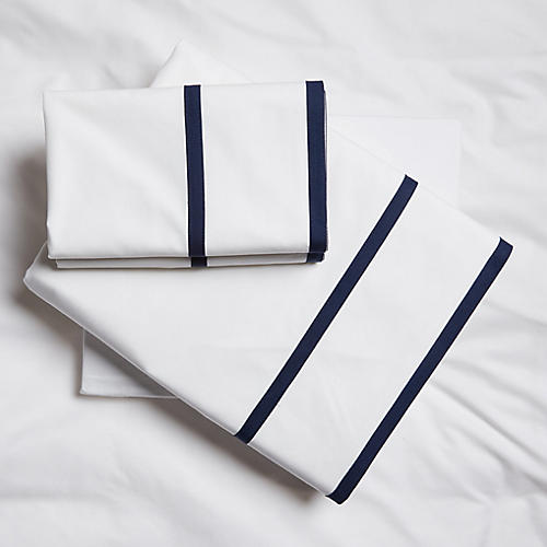 Collana Sheet Set, Navy