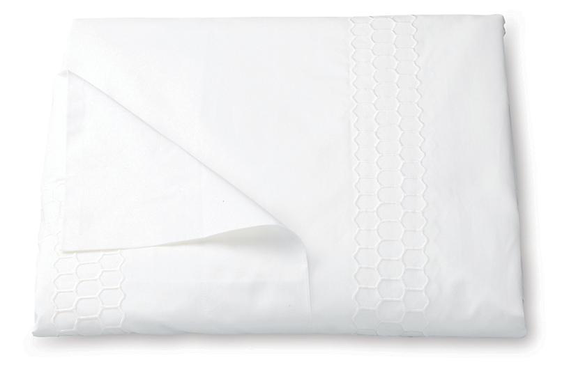 Liana Duvet Cover, White