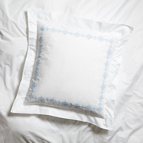 Bernini Euro Sham, Lt Blue