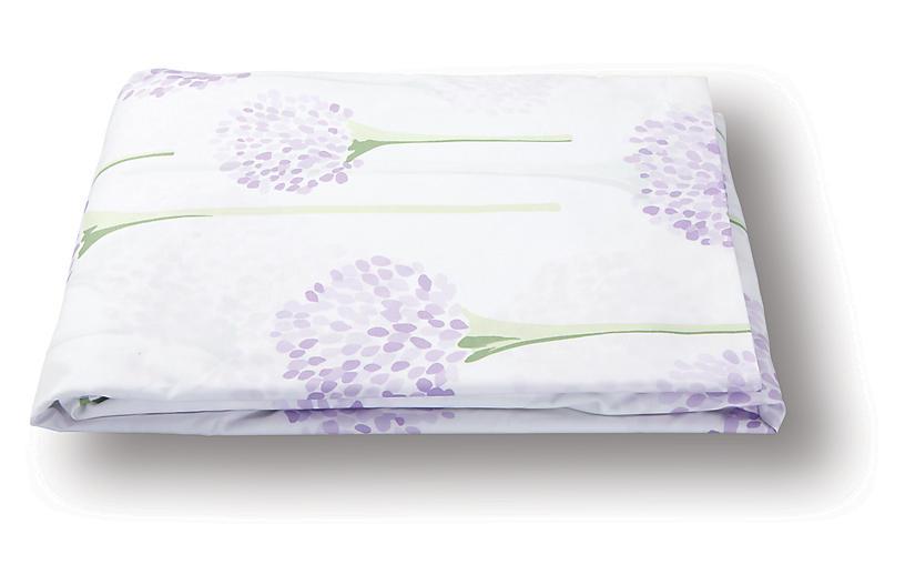 Lulu DK, Charlotte Fitted Sheet, Lavender