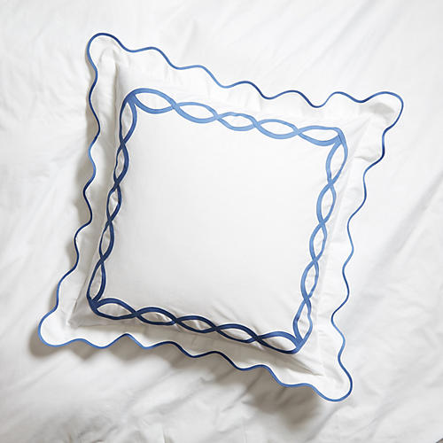 Gianna Euro Sham, Blue