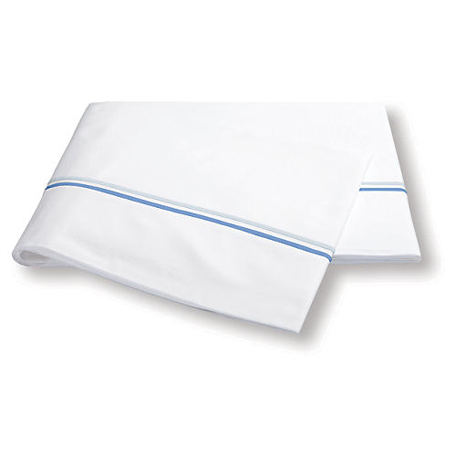 Essex Flat Sheet, Azure