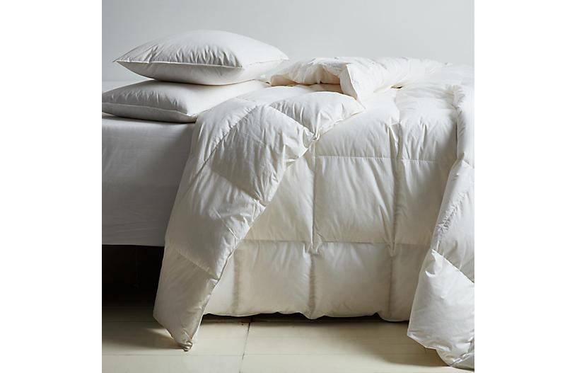 Montreux All-Season Comforter, White