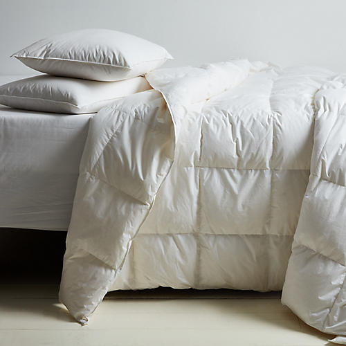Montreux Summer Comforter, White