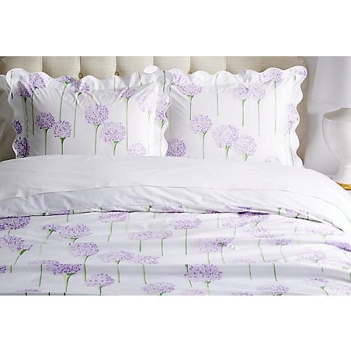 Charlotte Duvet Set, Lavender