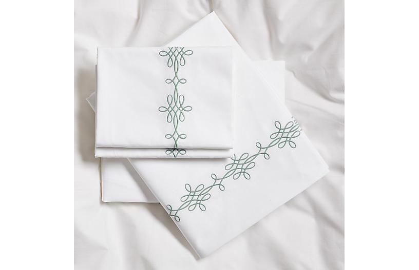 Bernini Sheet Set, Jade