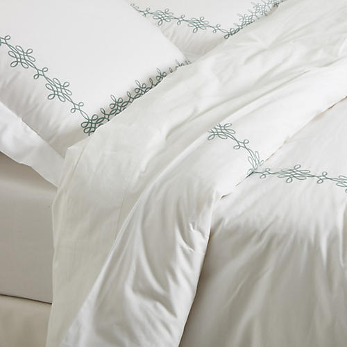 Bernini Duvet Set, Jade