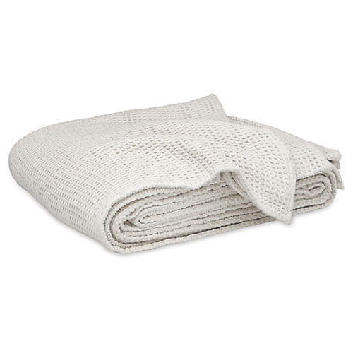 Chatham Blanket, Silver
