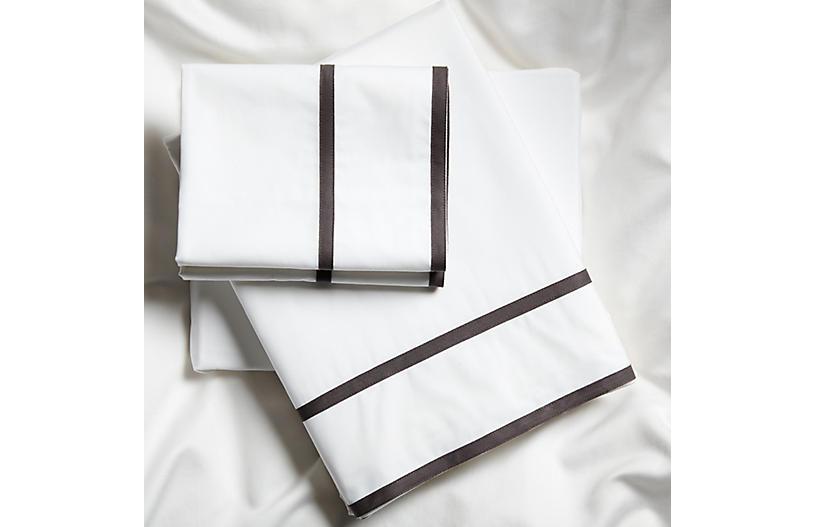 Collana Sheet Set, Charcoal