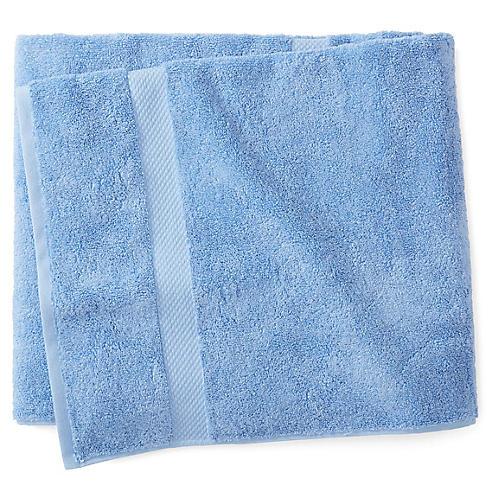 Merano Bath Towel, Azure