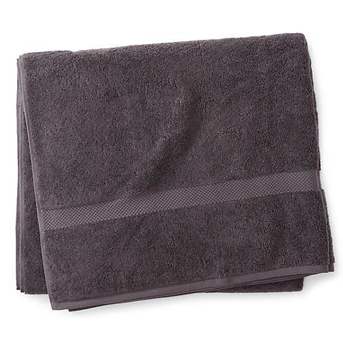 Merano Bath Sheet, Charcoal