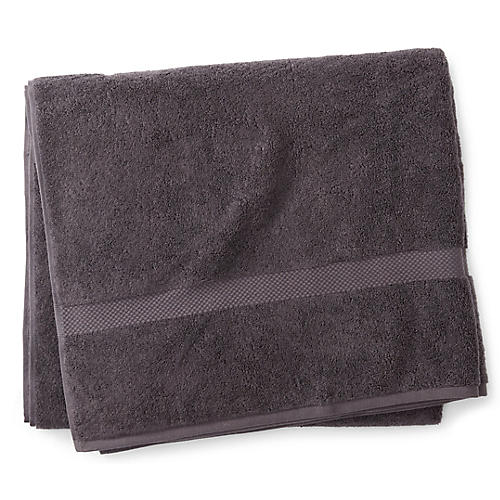 Guesthouse Bath Sheet, Charcoal