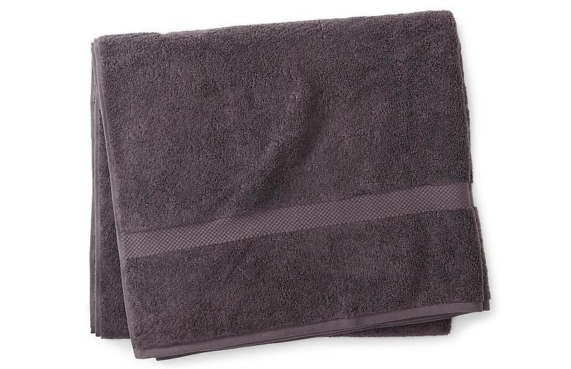 Guesthouse Bath Sheet, Charcoal