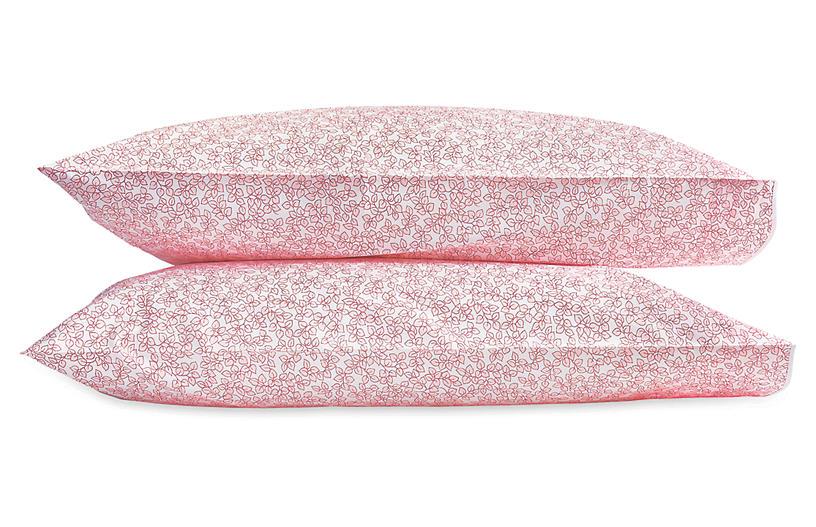 S/2 Margot Pillowcases, Blush
