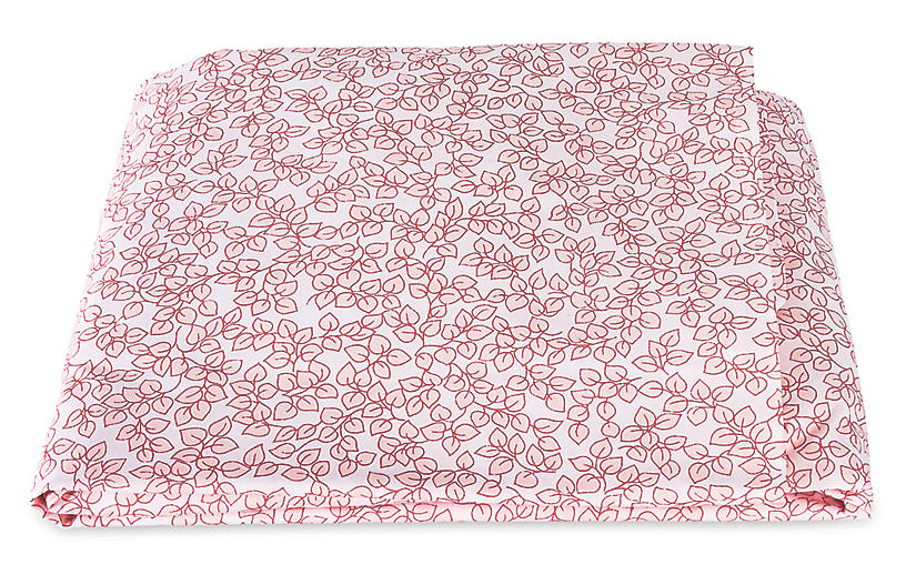 Margot Fitted Sheet, Blush