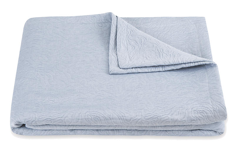 Cora Coverlet, Blue