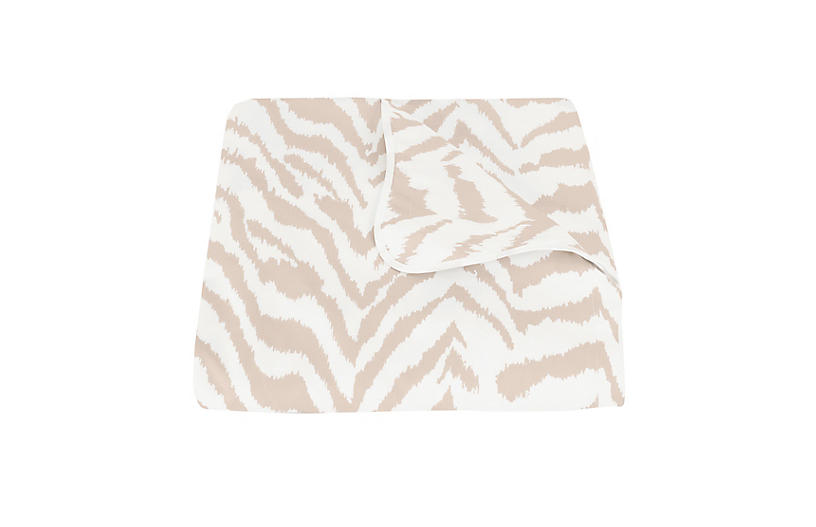 Quincy Duvet Cover, Sand