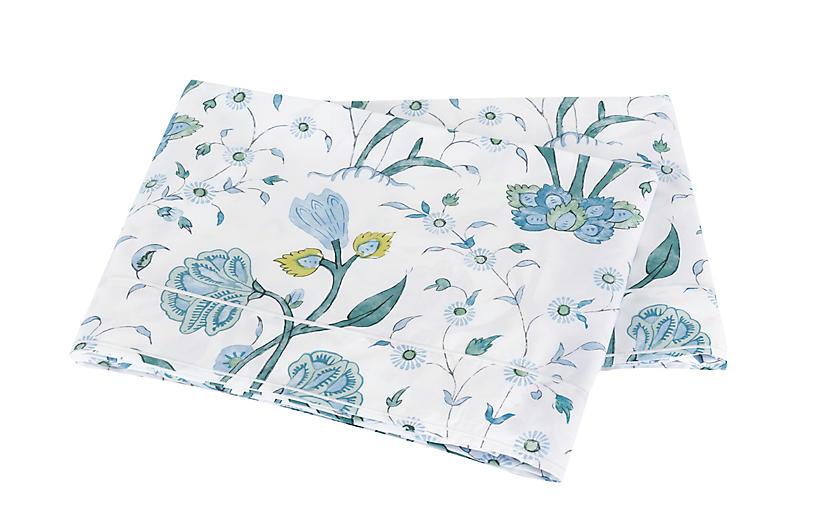 Khilana Flat Sheet, Blue