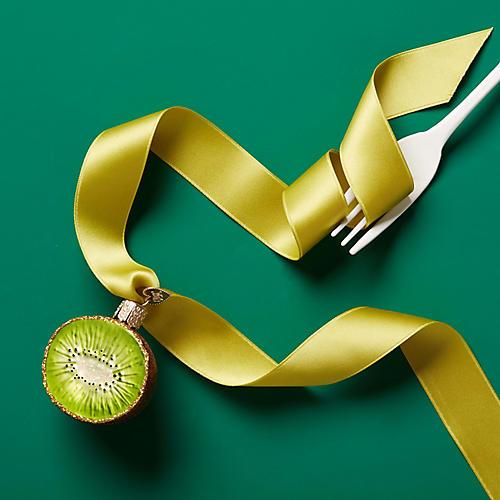 Kiwi Ornament, Green