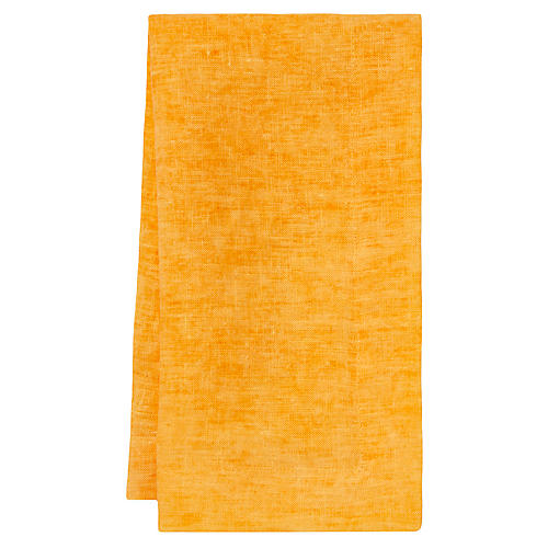 S/4 Fiji Napkins, Orange