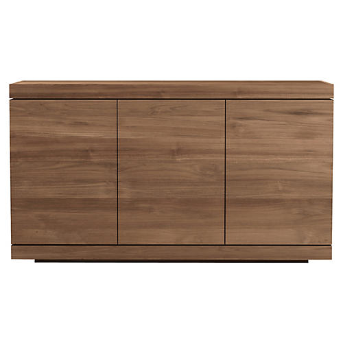 Burger 3-Door Sideboard, Teak