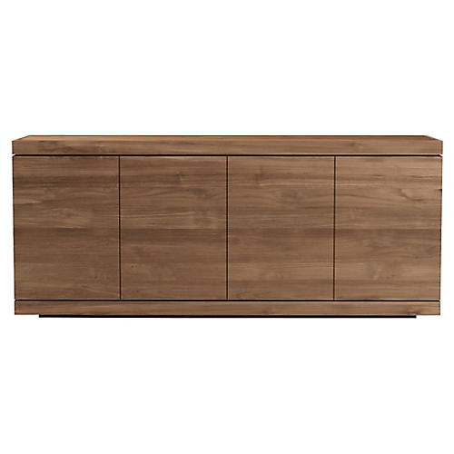 Burger 4-Door Sideboard, Teak
