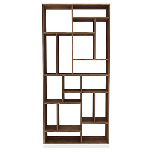 Mondrian Bookcase, Teak