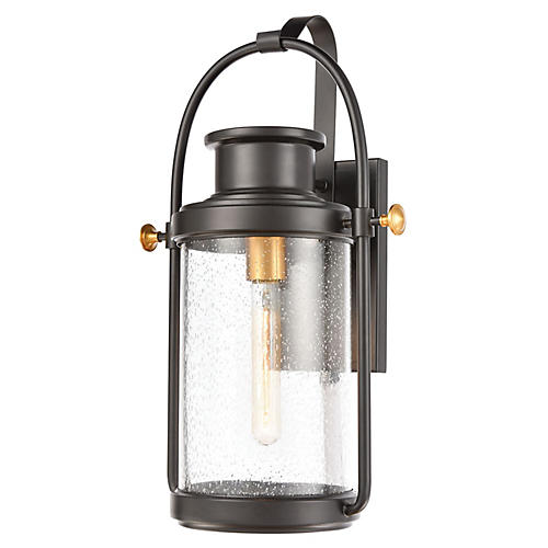 Wexford Outdoor Lantern, Matte Black
