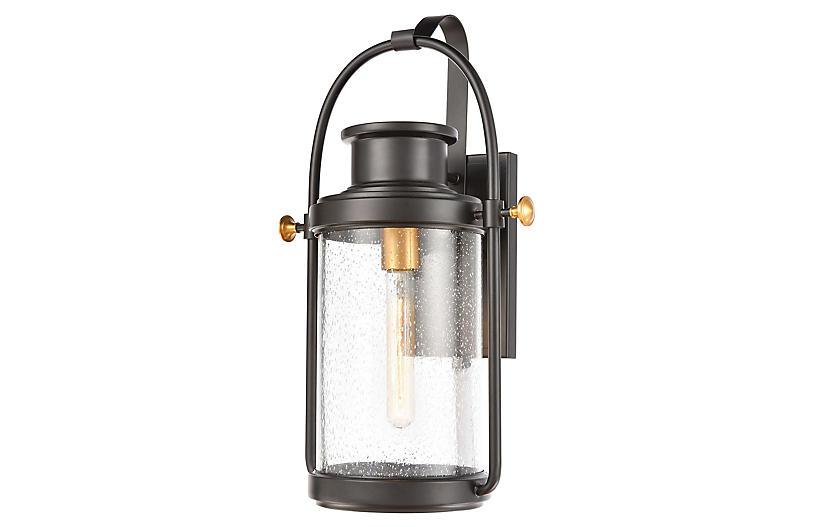 Wexford Outdoor Lantern, Matte Black