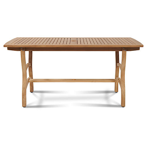 Pacifica Dining Table, Natural