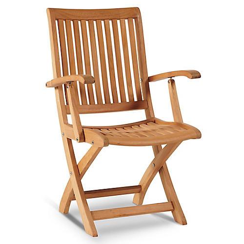 Winfold Armchair, Natural